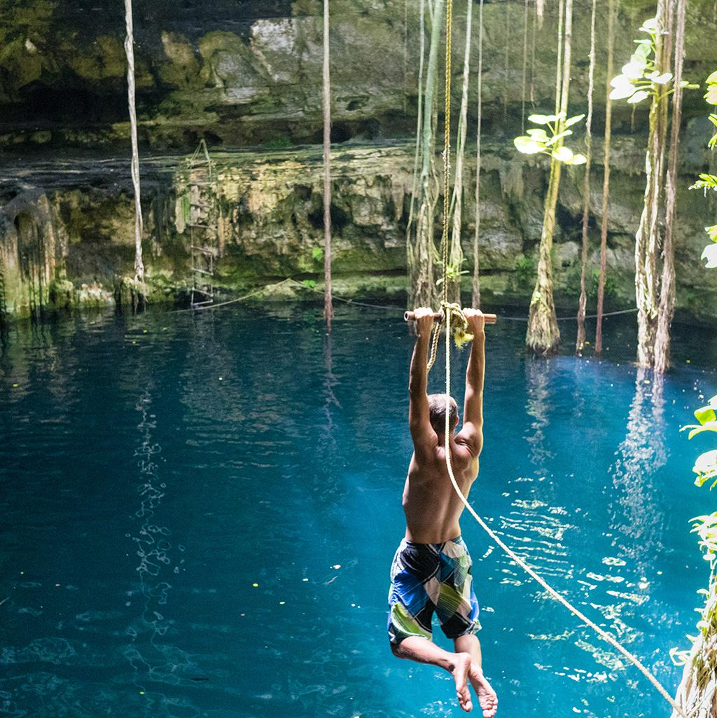 Cenote water activities