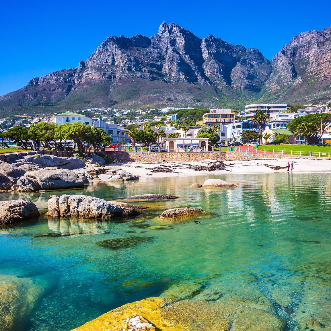 Stirring Cape Town mountain views