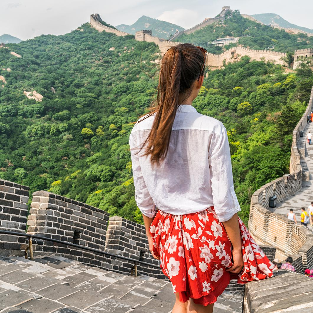 Topdeck Tour along the Great Wall of China