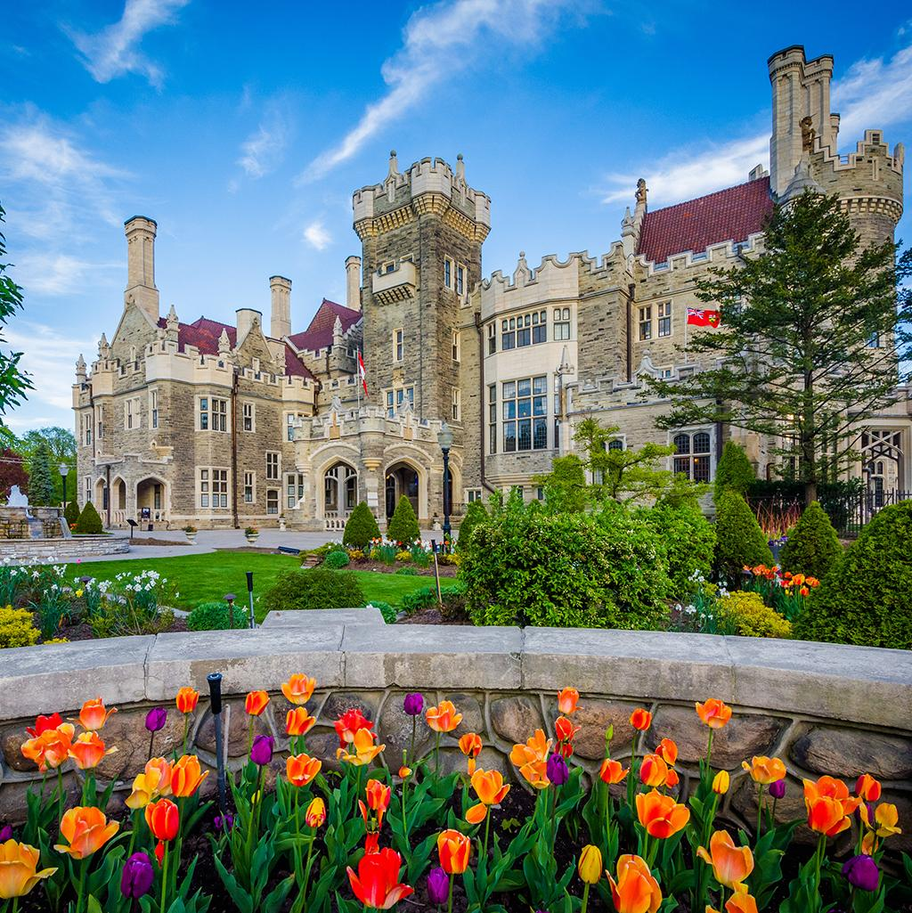 Casa Loma, a mansion and garden located in Toronto