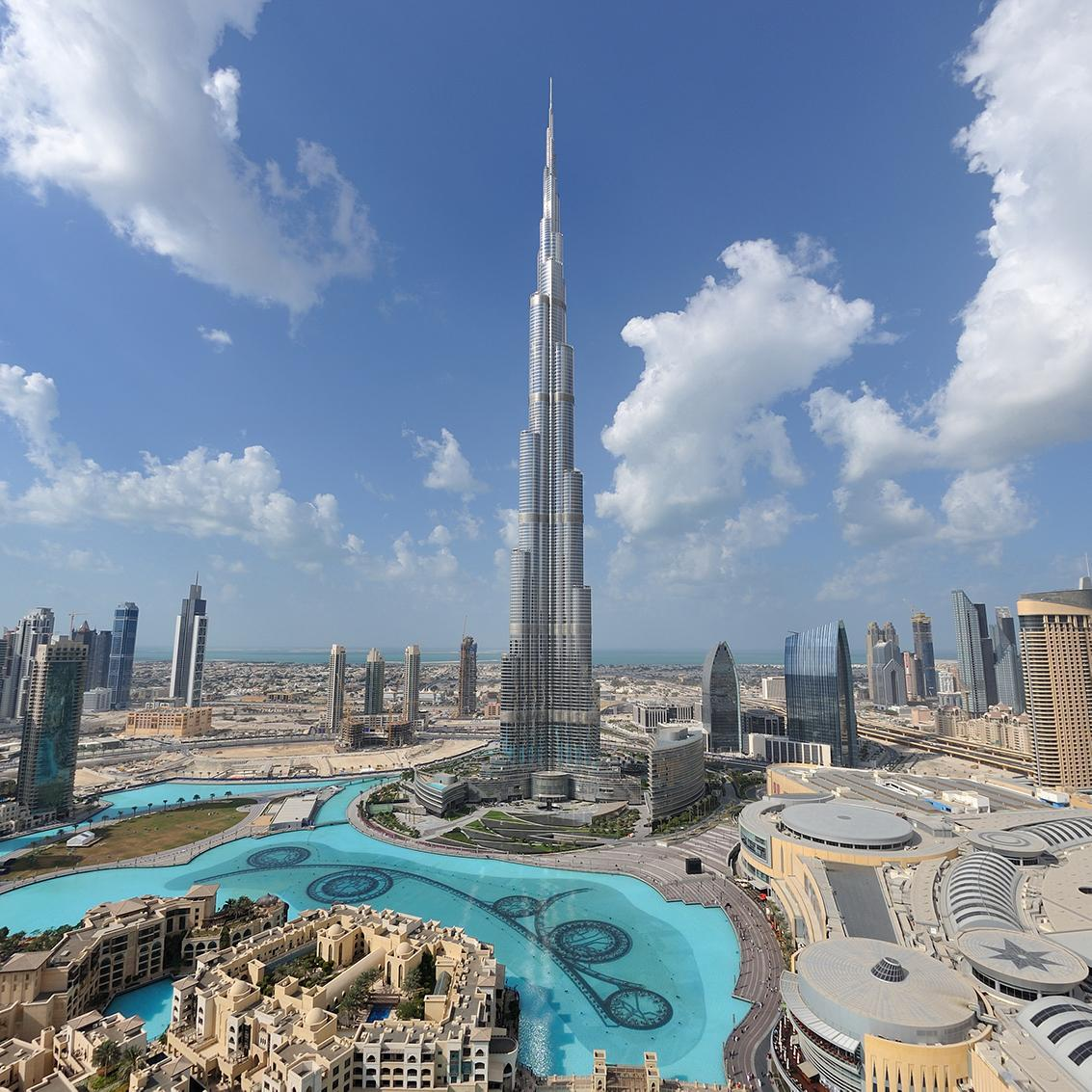 View the Burj Khalifa with United Arab Emirates vacation packages