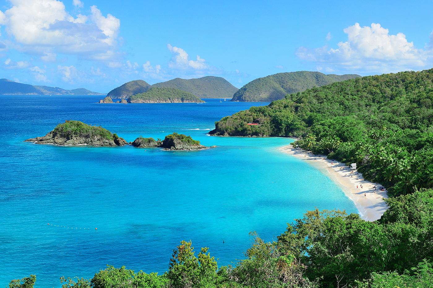 Experience authentic Caribbean views with US Virgin Islands vacation packages