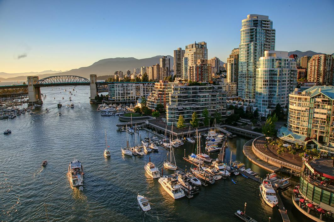 Experience sights like Vancouver's bustling harbor with Vancouver tours