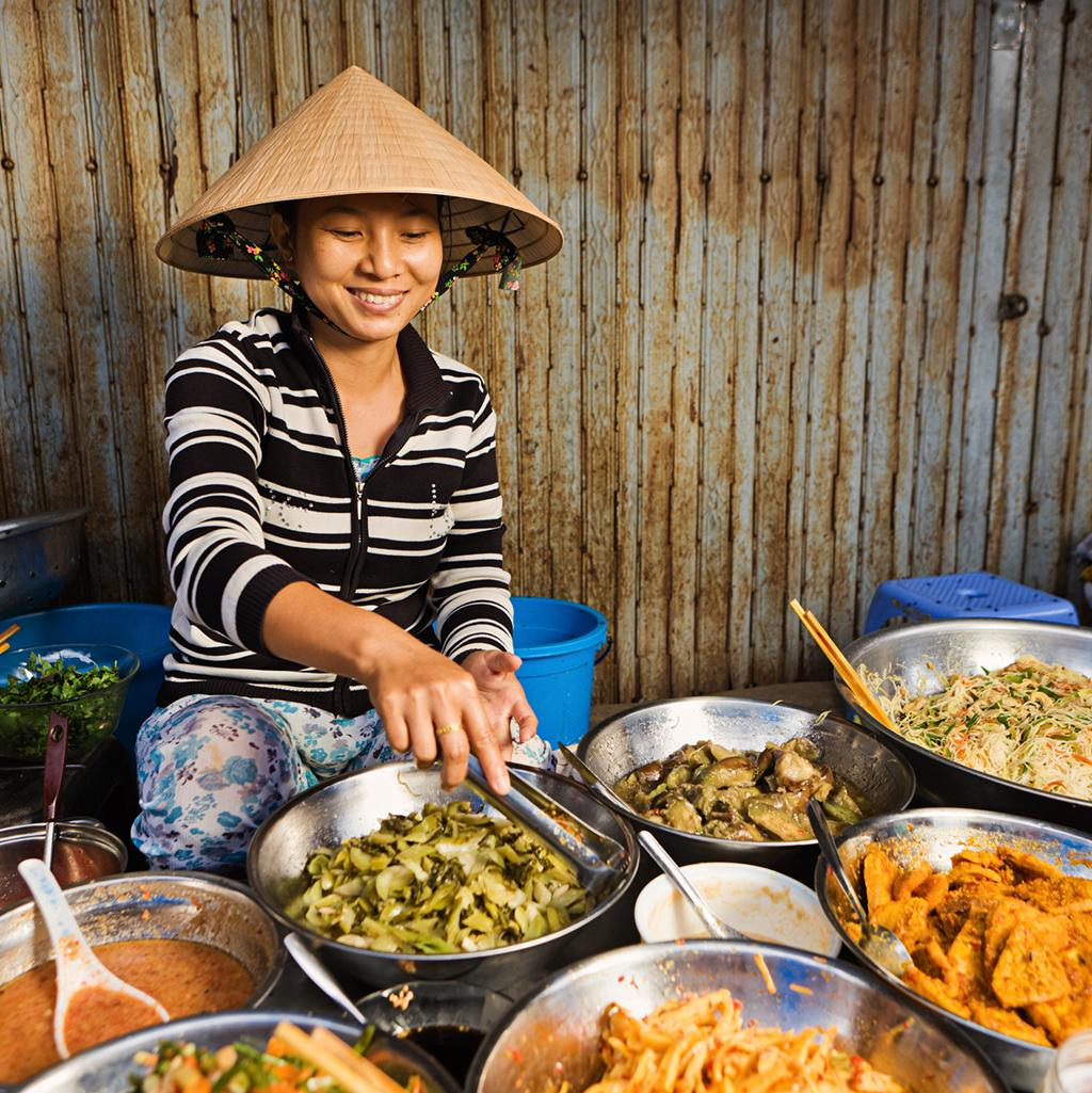 Traditional Vietnamese meals