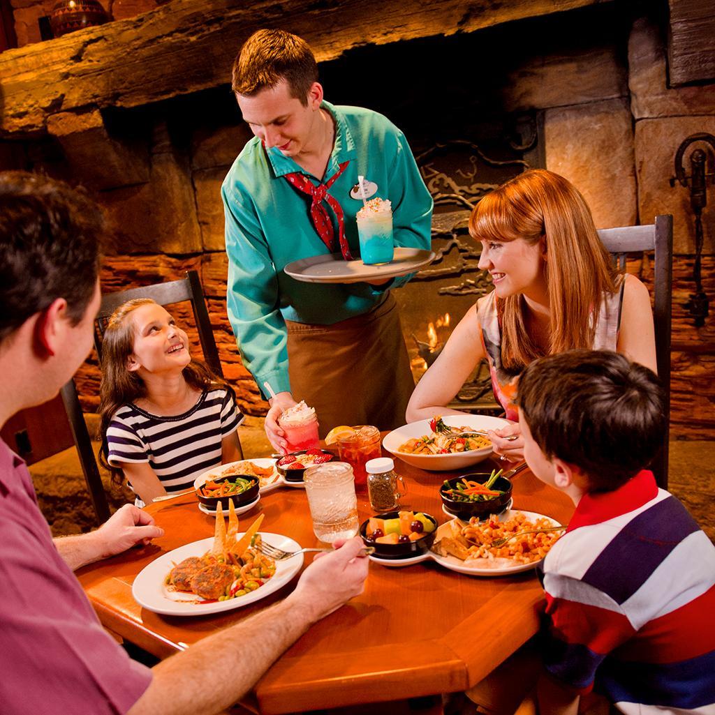 Indulge in the wonderful foods of Disney's resorts