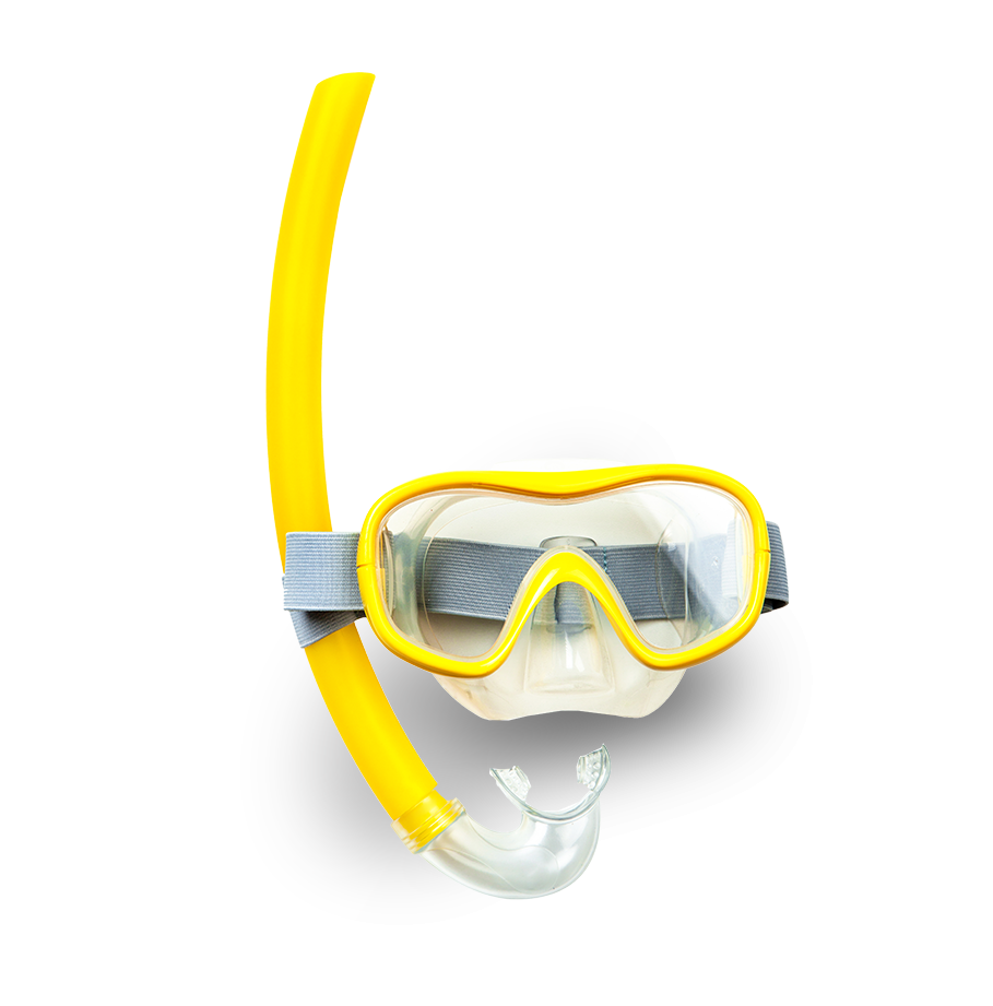 Snorkel and mask - essentials for Anguilla vacations