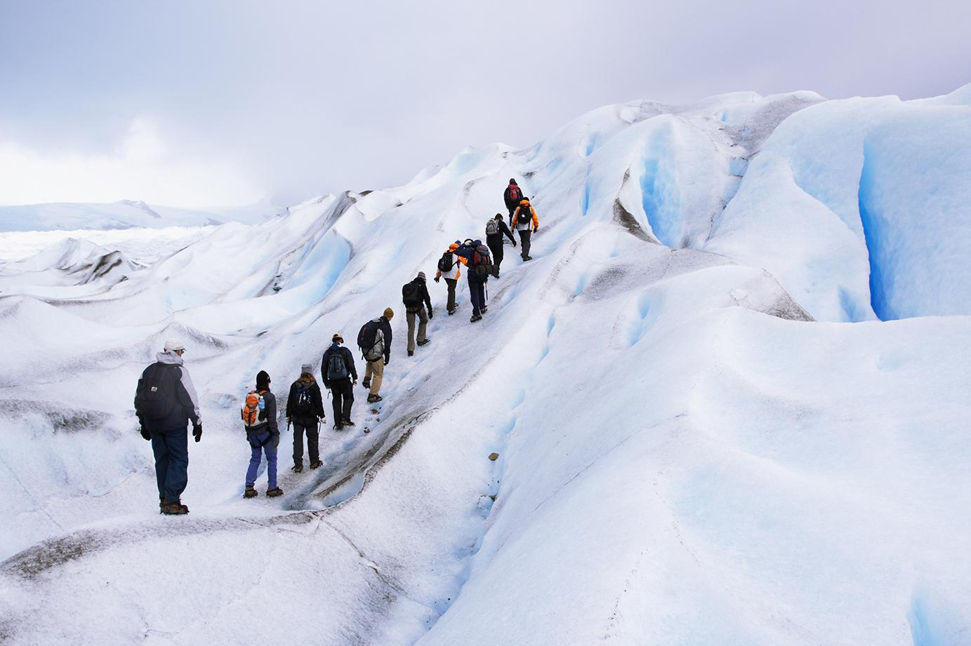 Discover glacier hiking with Argentina tours
