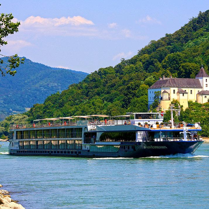 Soak up panoramic views of new lands aboard an Avalon Waterways Cruise