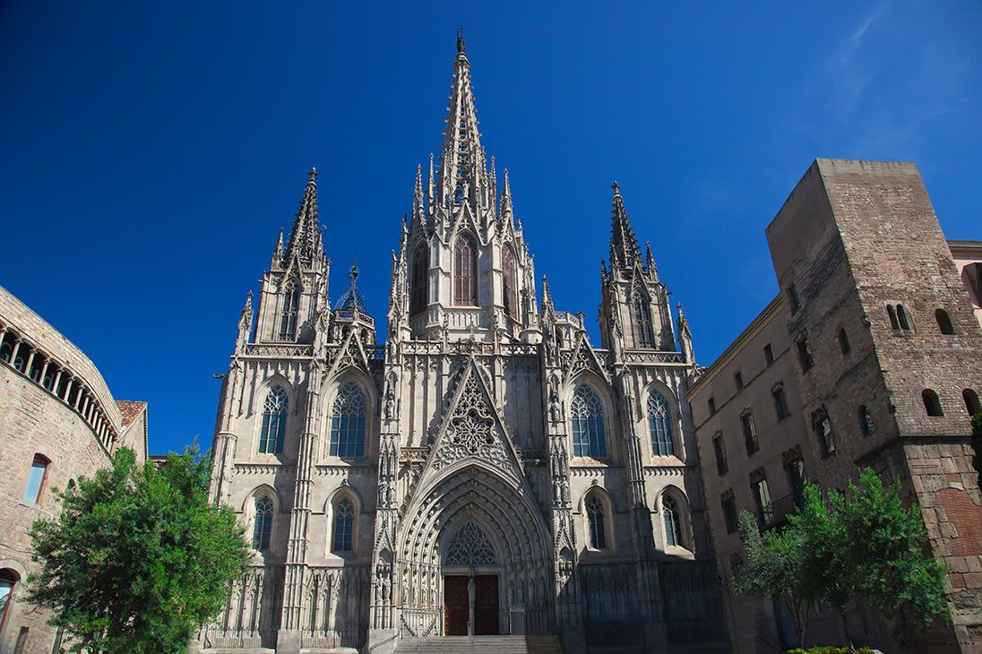 Gothic architecture in Barcelona