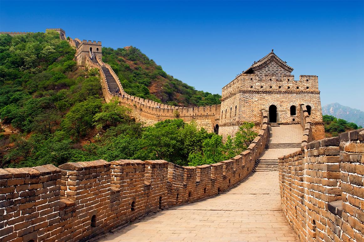 Views of the great wall of China with Beijing vacations