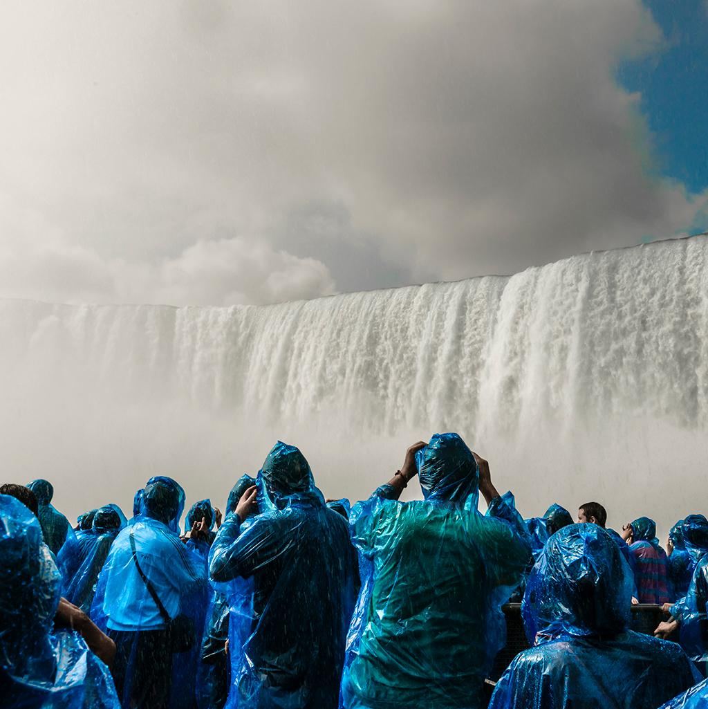 Majestic views of Niagara Falls from Canada