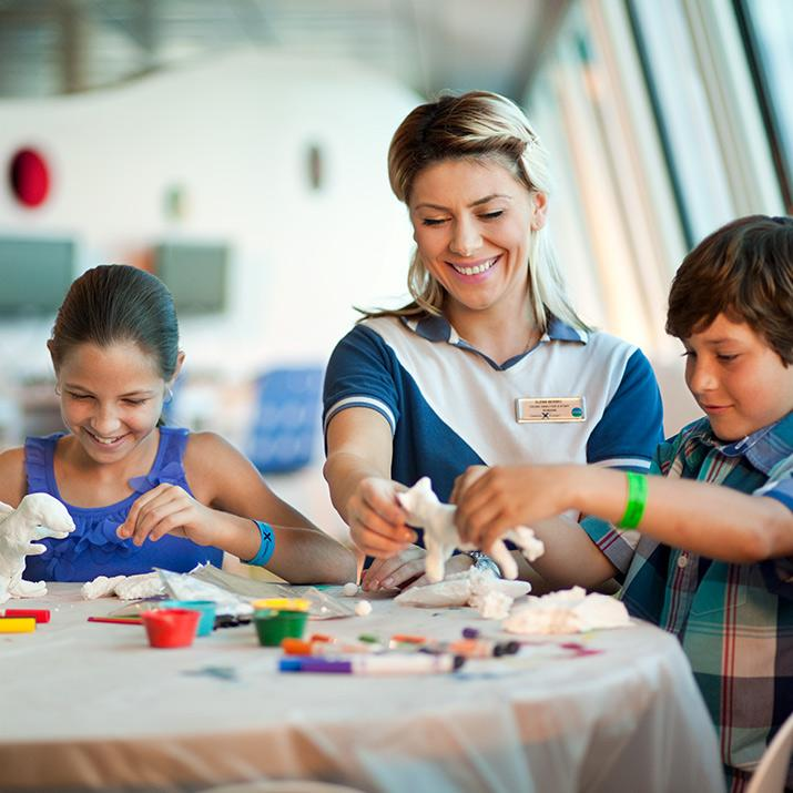 The crew aboard Celebrity Cruise Line is always ready to help make your trip as memorable as possible