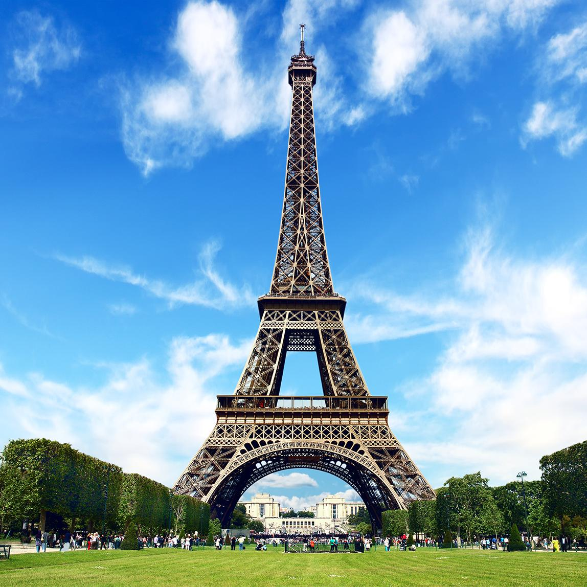 View the awe inspiring Eiffel Tower with Cosmos tours