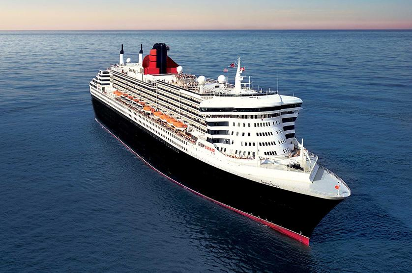 Step aboard the Cunard Cruise ship where must-see views of the open sea await
