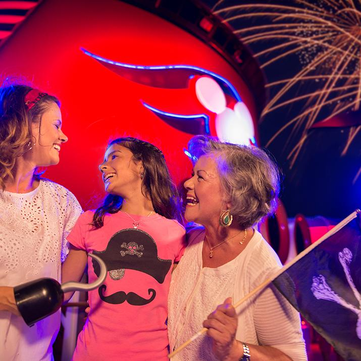 There is Fun for all ages aboard a Disney Cruise Line cruise