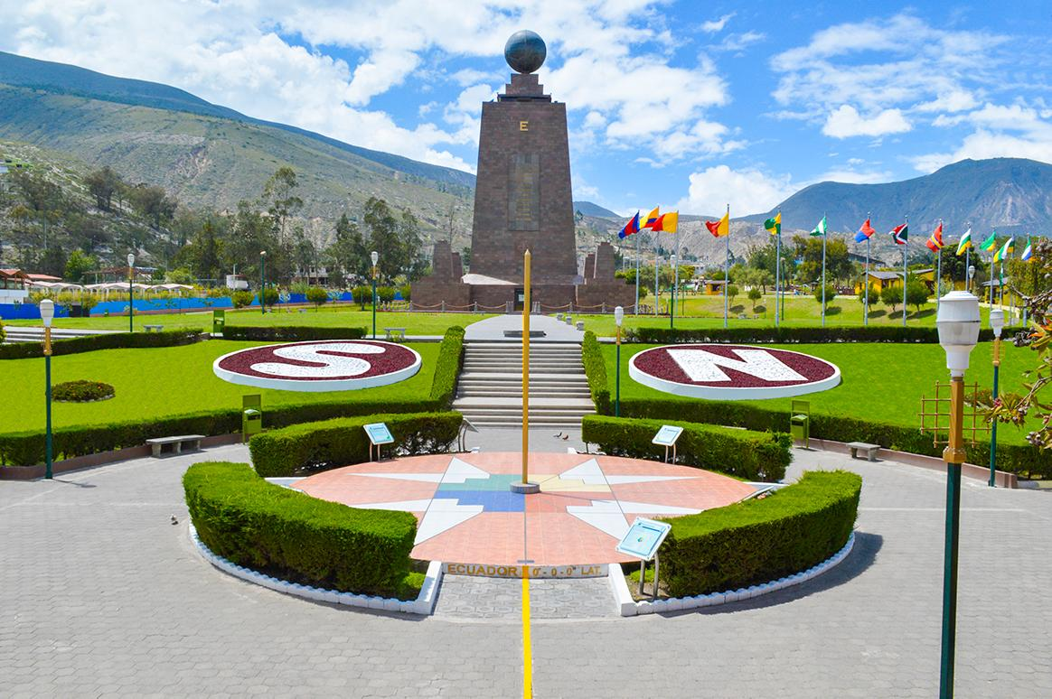 Travel to the equator and stand in two hemispheres at once with Ecuador tours & excursions