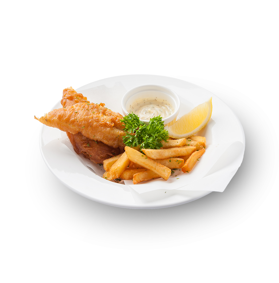 Fish and chips a traditional English dish