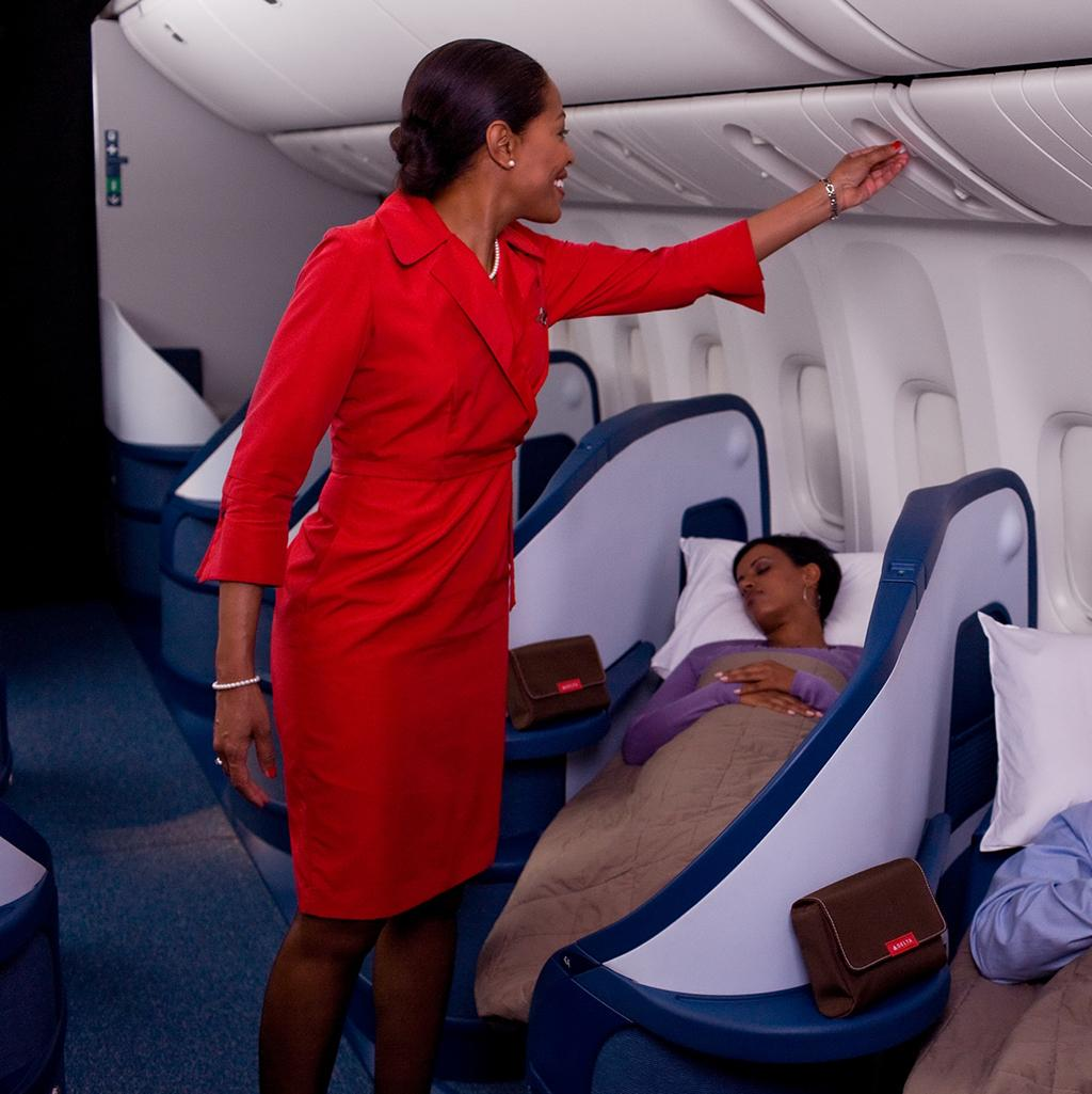 Sleep soundly on the flight to your destination