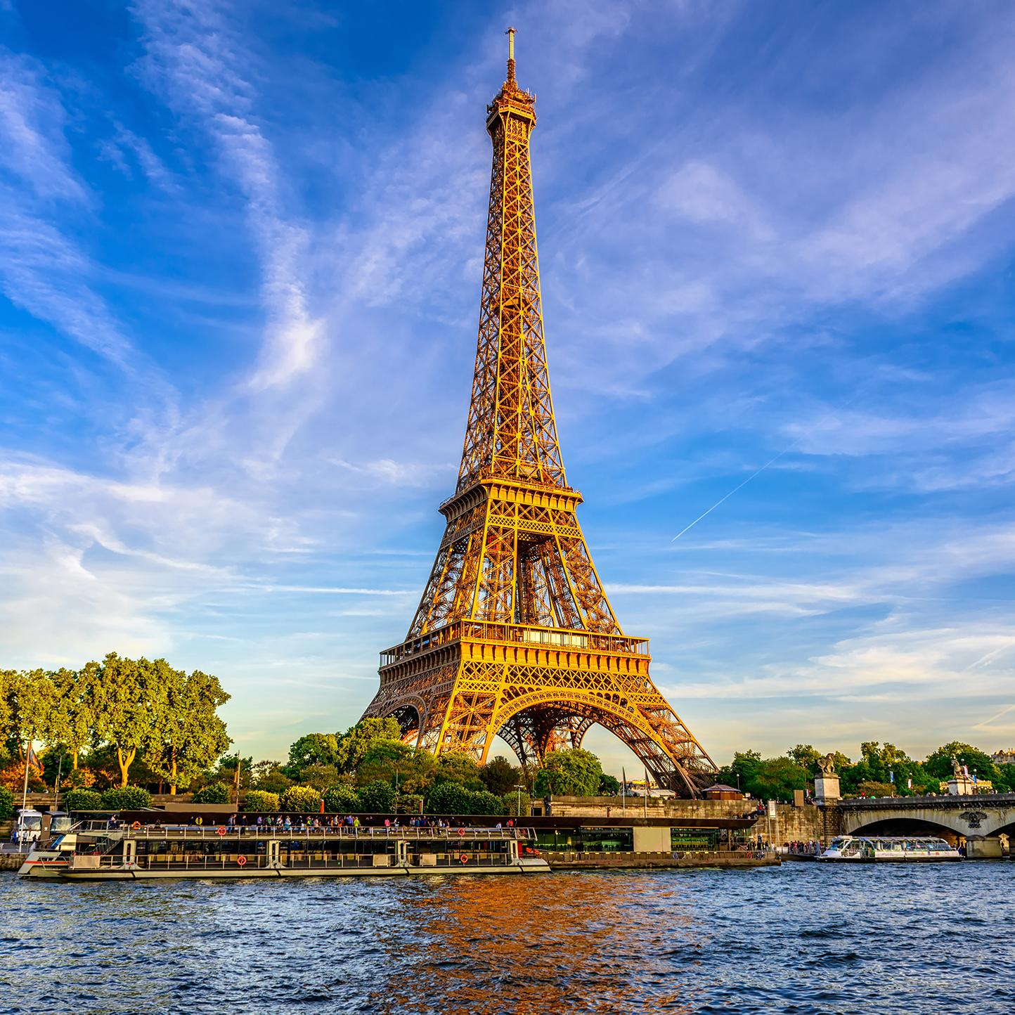 View of the Eiffel Tower with France vacation packages