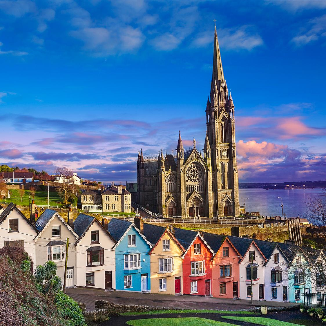 Take a tour through Ireland and stop by St. Coleman's Cathedral in Cobh