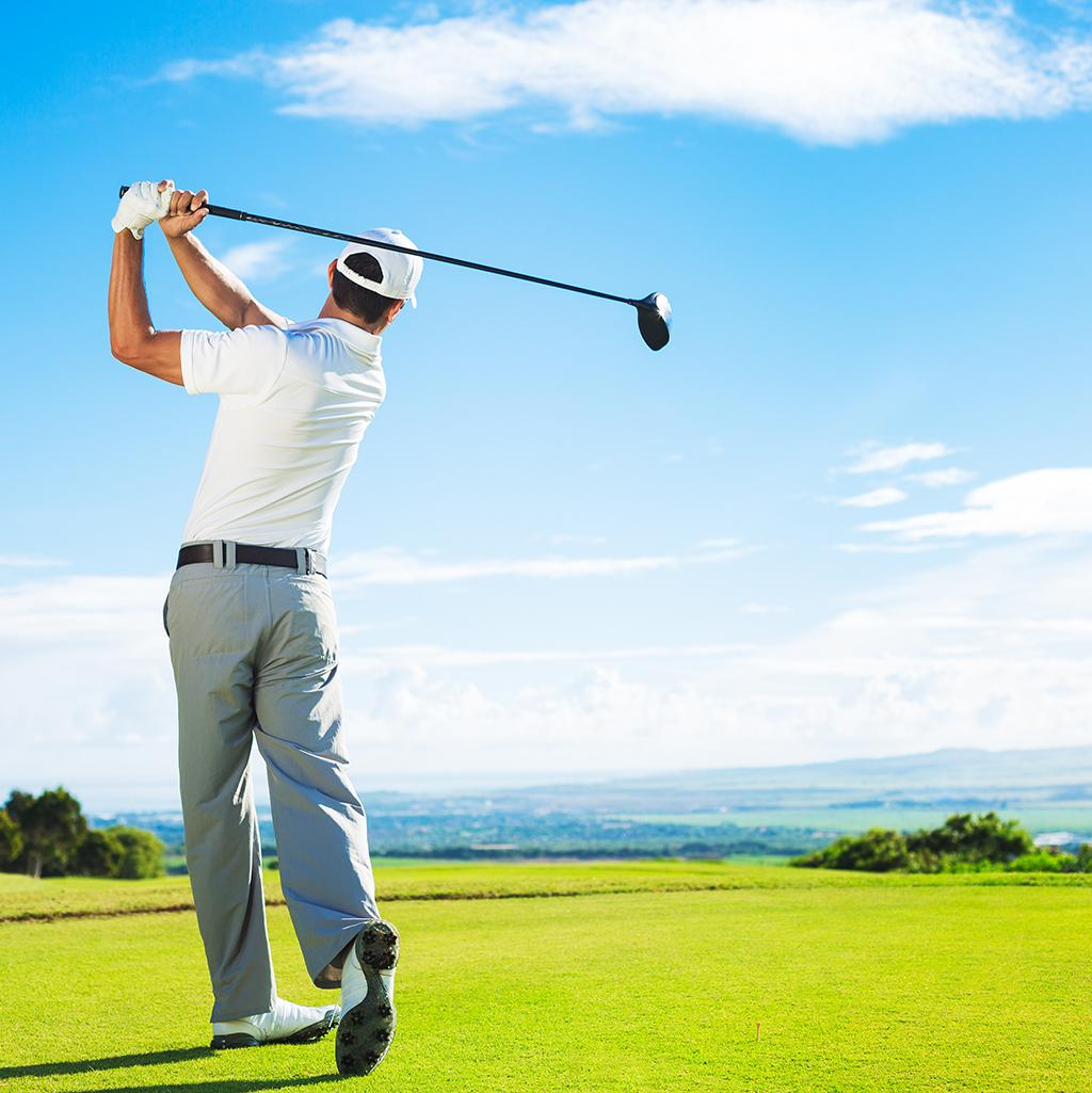 Enjoy golf excursions on your vacation