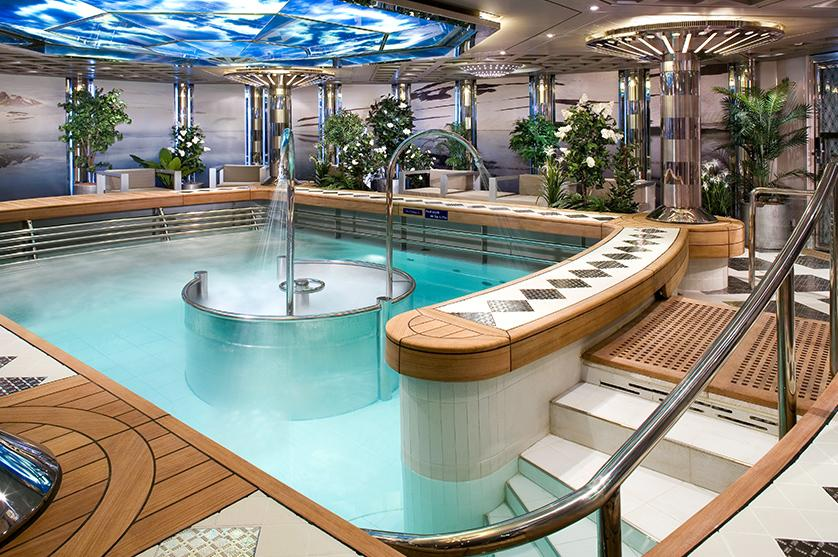 Travel with A 5-Star Fleet and indulge in the on-board spa while sailing on the high seas
