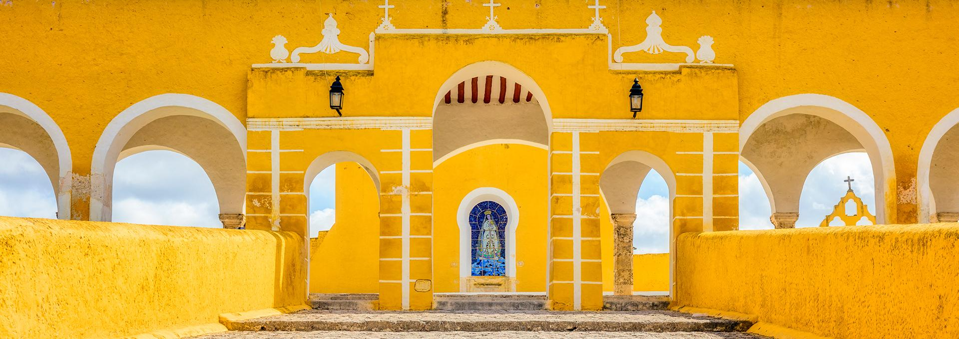 "Izamal, ""Magic town"" Mexico"