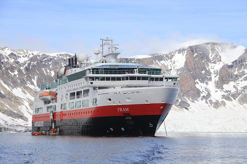 Make lifelong memories aboard a Hurtigruten Cruise ship as majestic Arctic views serve as the perfect backdrop
