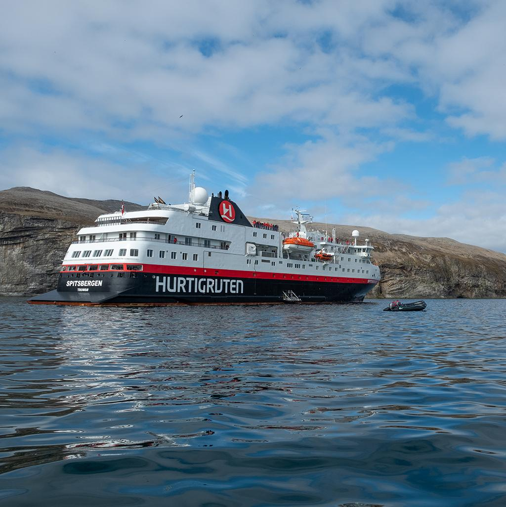 Hurtigruten Cruise Line ship voyage