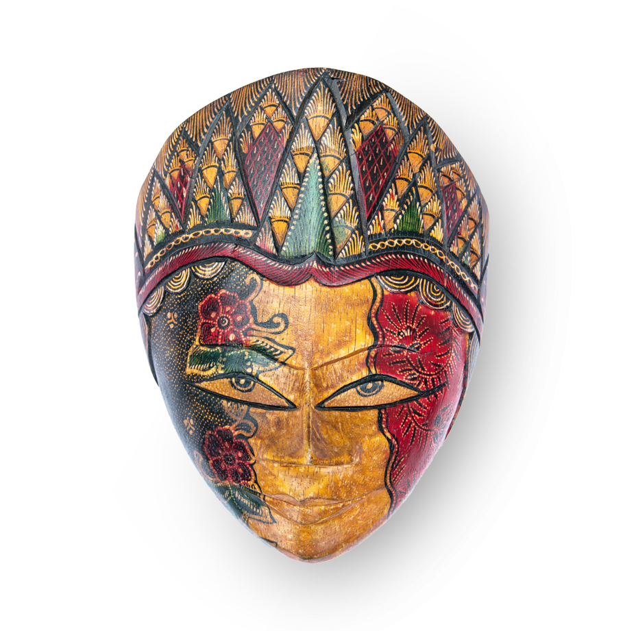 Traditional Indonesian mask
