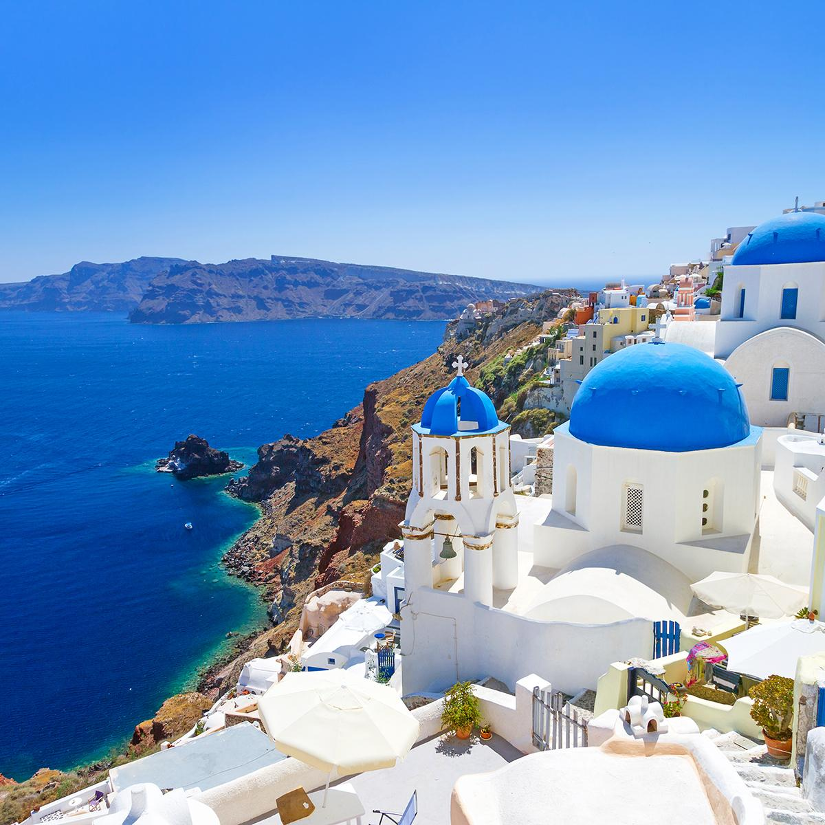 Breathtaking views of Greece - Insight Vacations tours can take you there