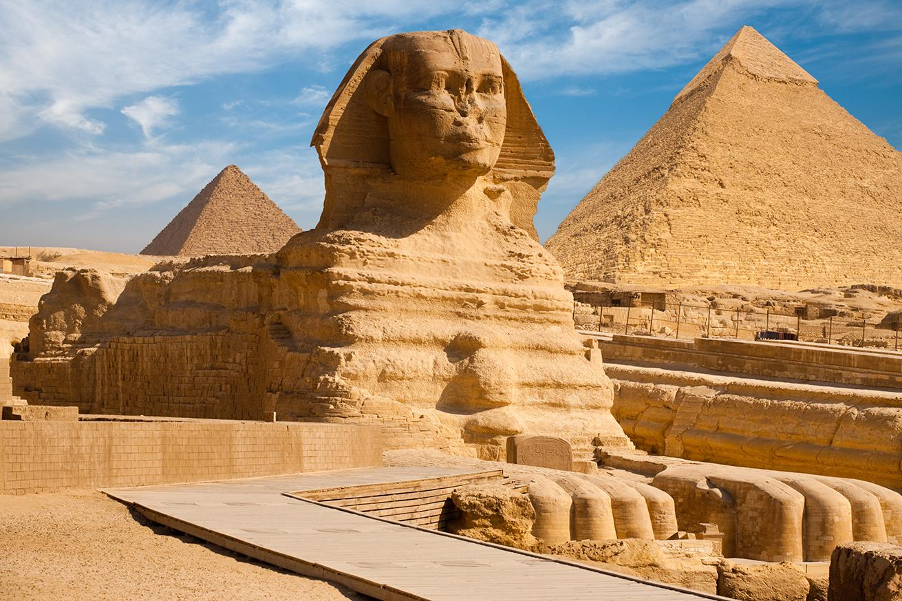 Take a tour of Egypt and experience all the awe-inducing wonder and mystery that is The Great Sphinx