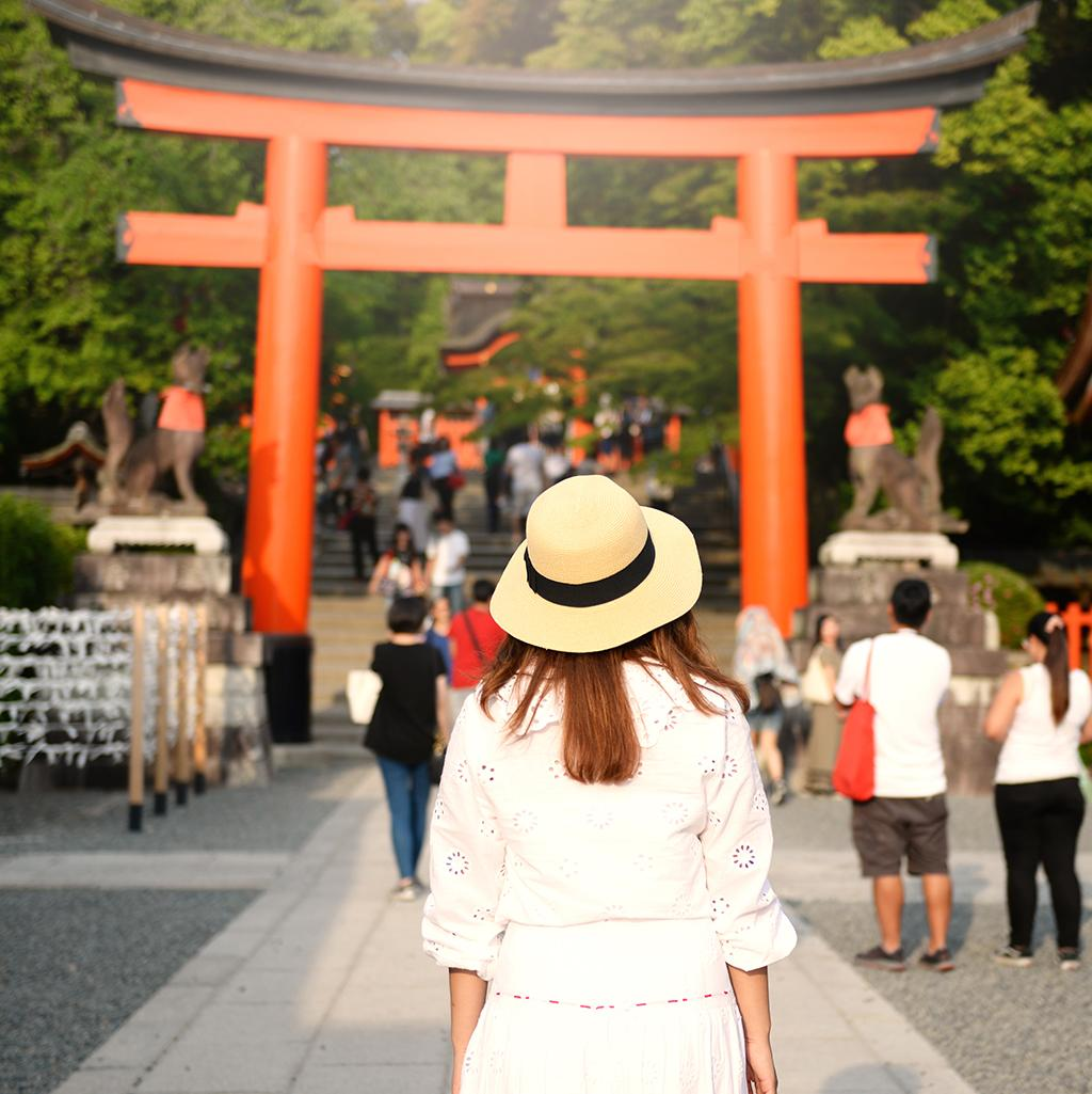 Tour historic temples and torii gates with Japan vacation packages