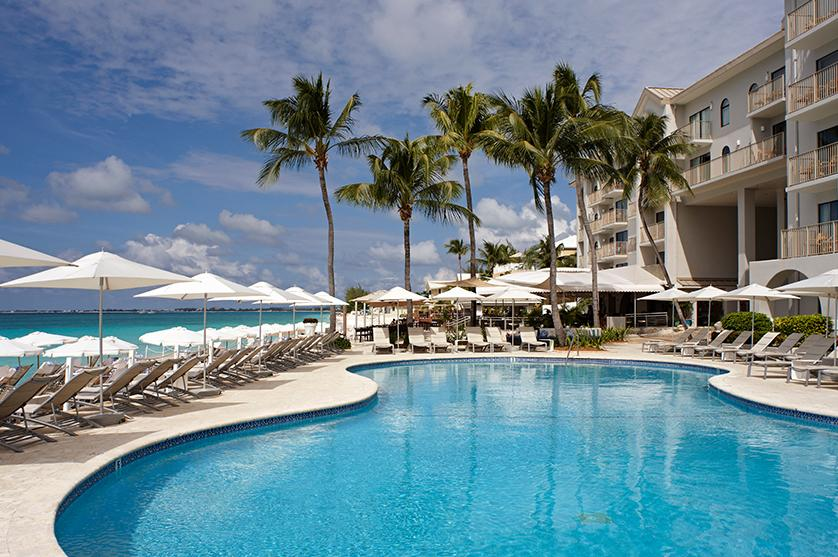 Relax by the pool at world class resorts with Marriott Hotels