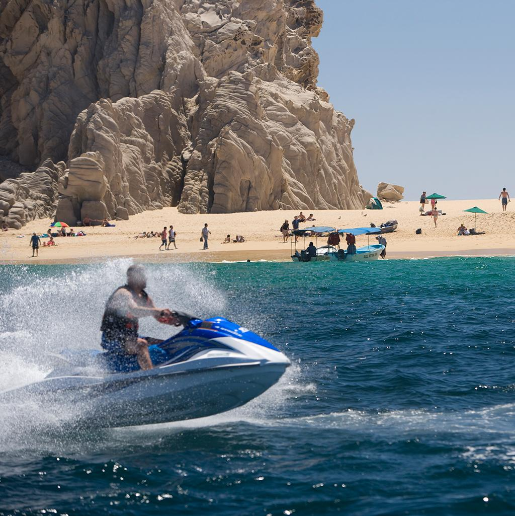 Beachside activities in Cabo, San Lucas Mexico