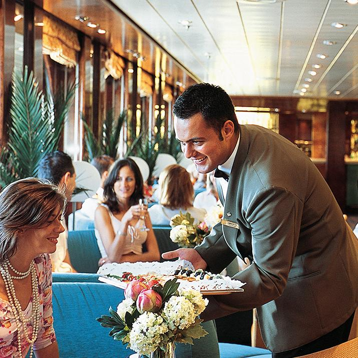 Wine and desserts aboard MSC Cruise Line are just a few things to look forward to while on board