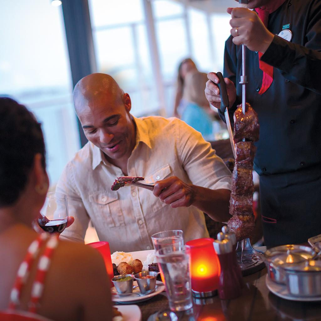 While there are many dining options to choose from aboard a Norwegian Cruise, every choice is a great one