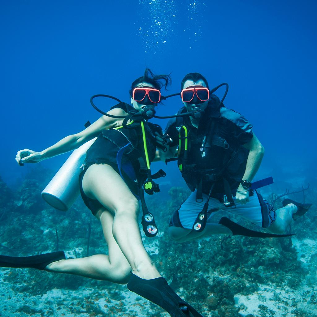Scuba diving in Negril Jamaica