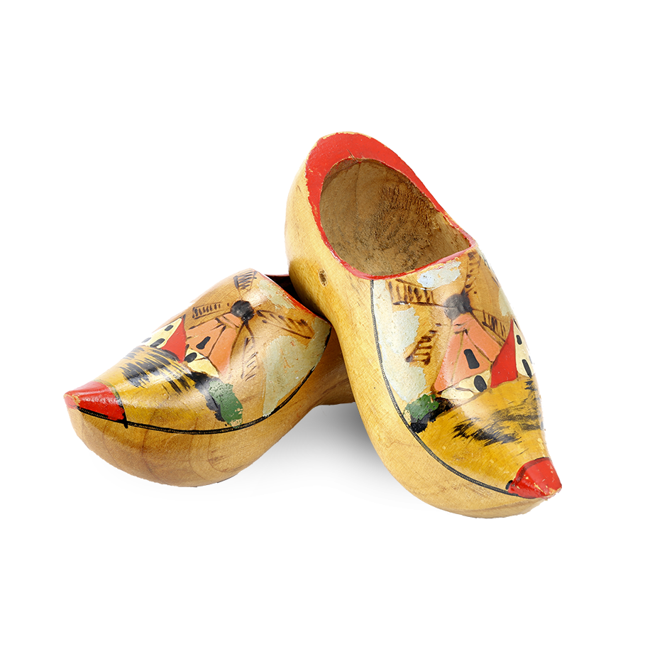 Netherlands clogs - wooden shoes from Holland