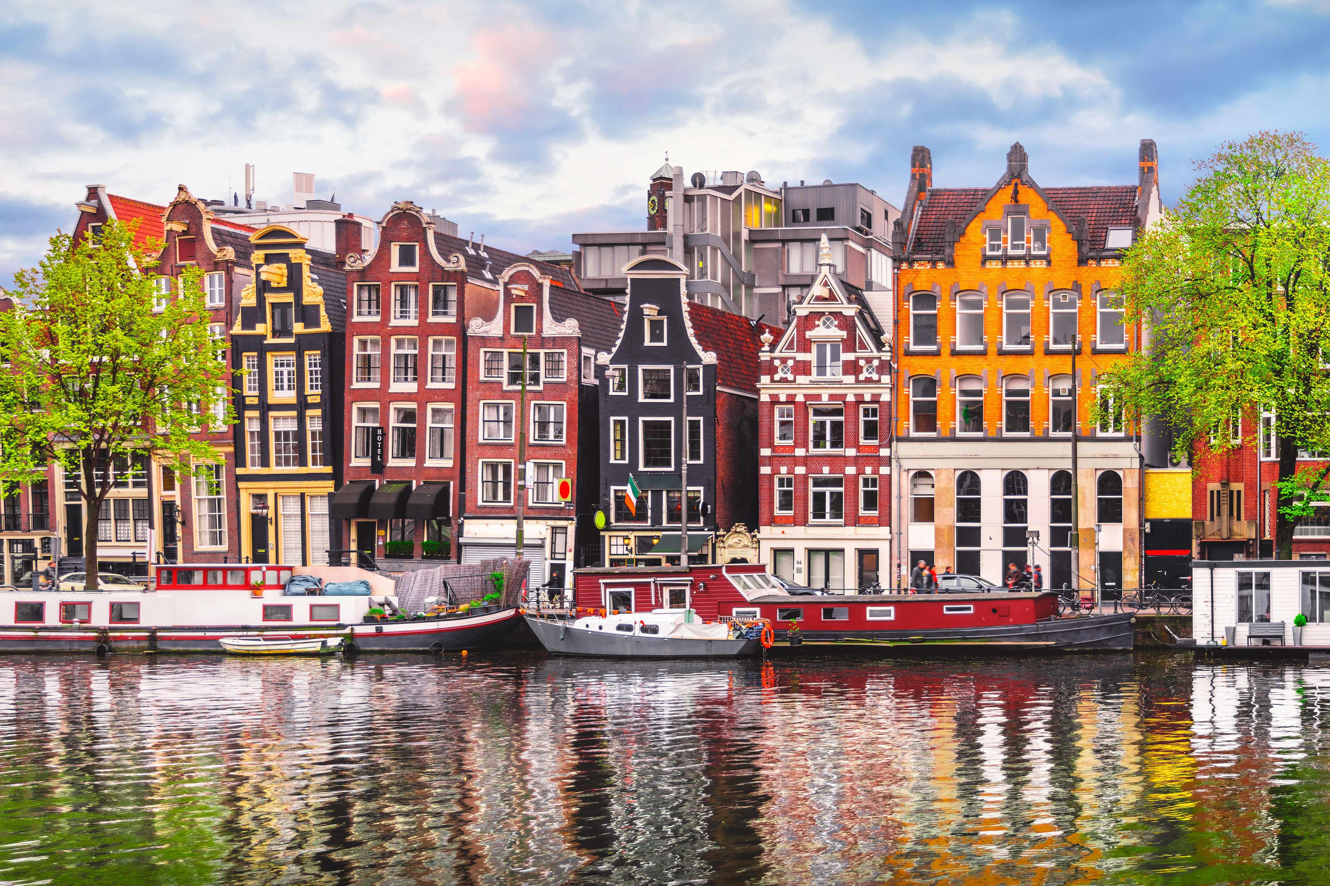 Visit historic cities and quaint canals with Netherlands cruises