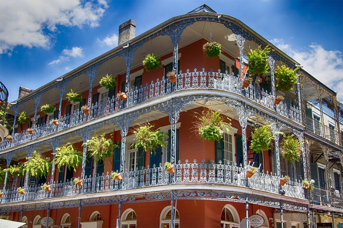 Stunning architecture in New Orleans, Louisiana