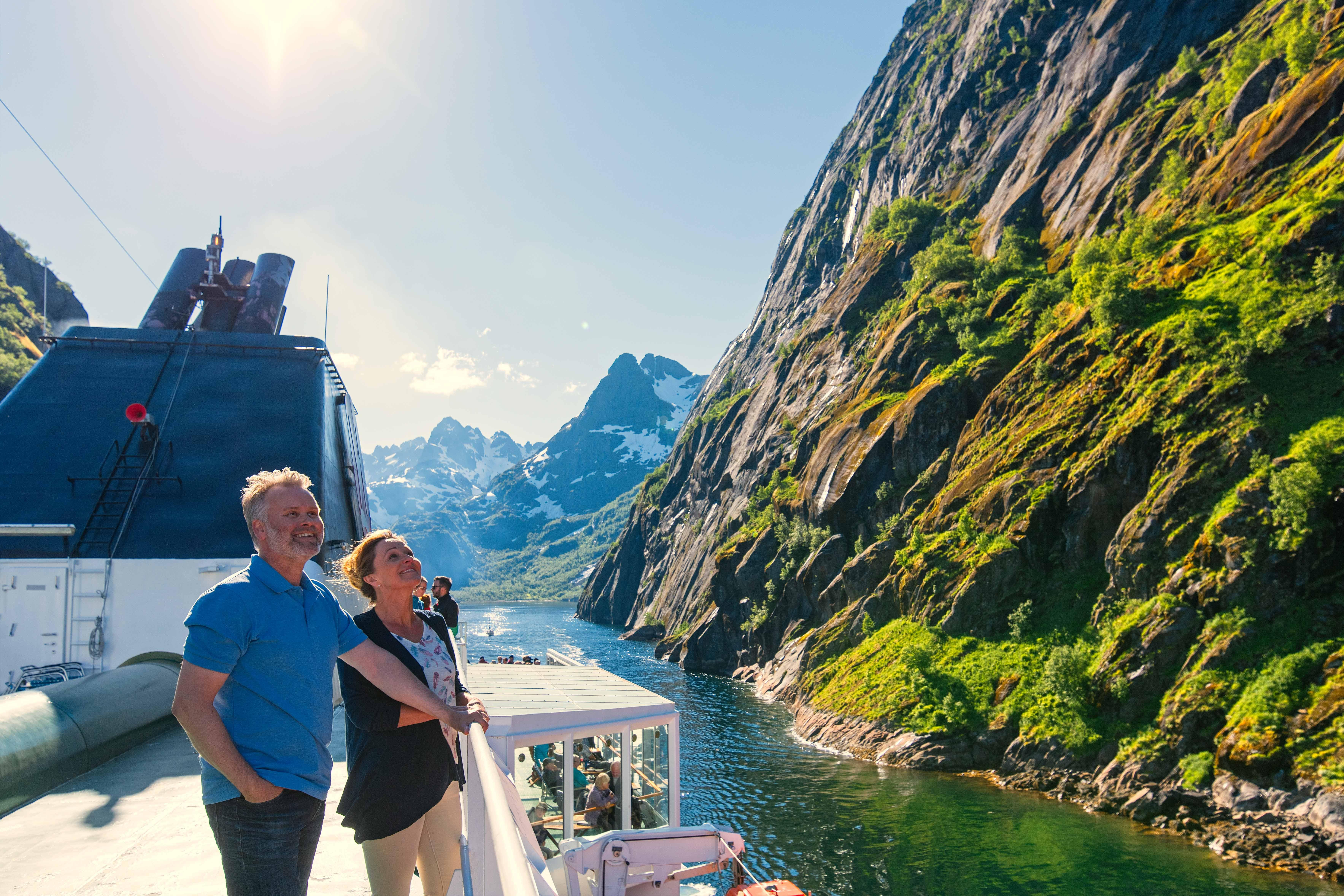 Experience breathtaking views of fjords with Norway cruises