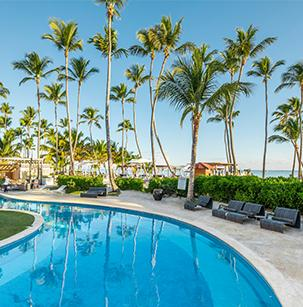 pool view of Be Live Resorts in Punta Cana, Dominican Republic