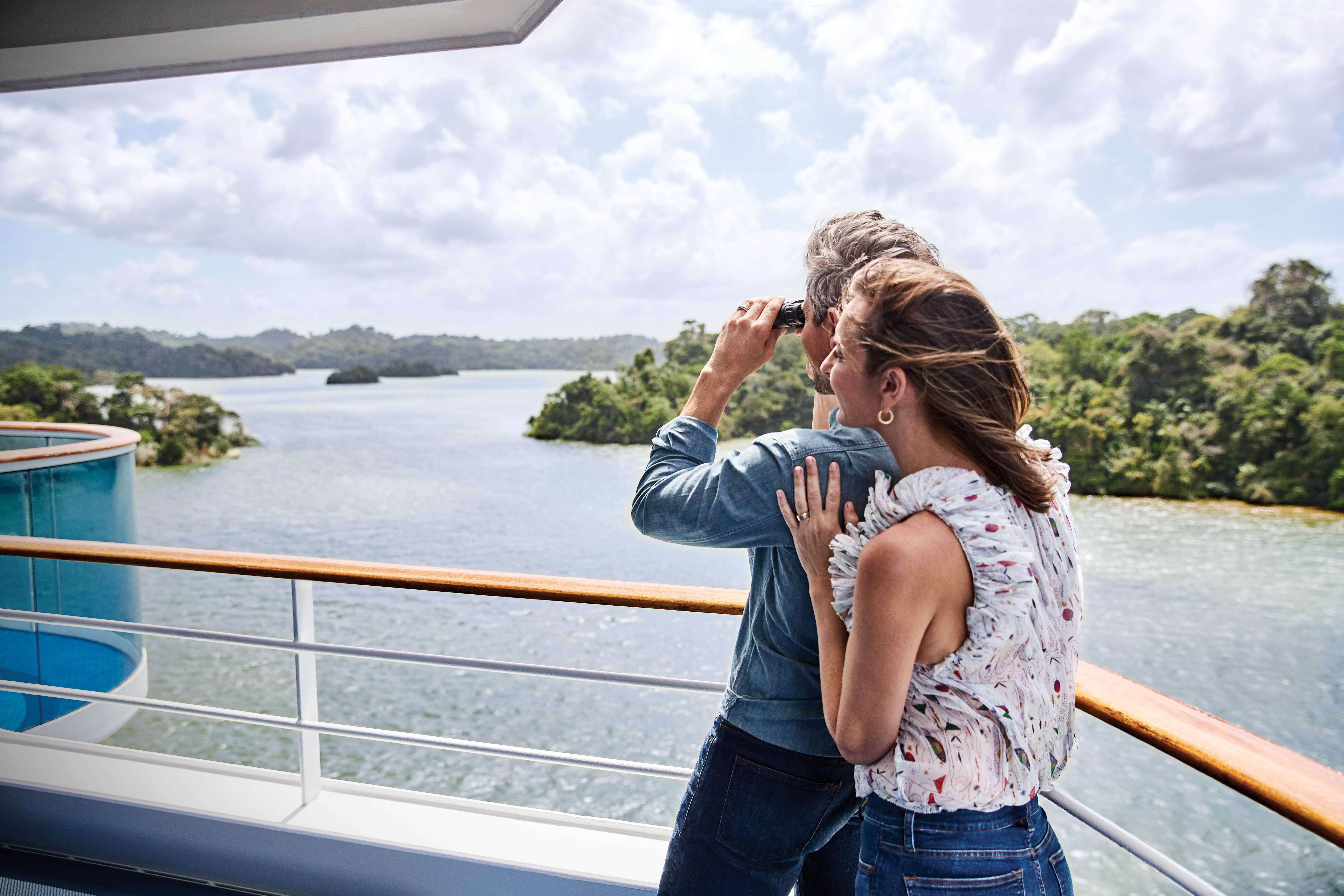 Experience magical views of rainforests and lakes with panama cruises