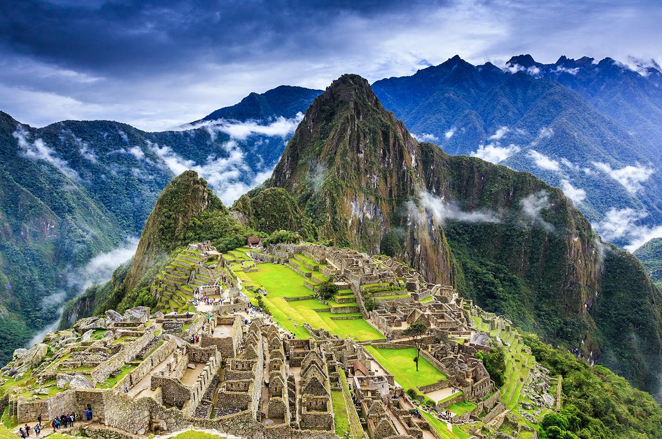 Hike up to the famous ancient city of Machu Picchu with Peru tours and excursions