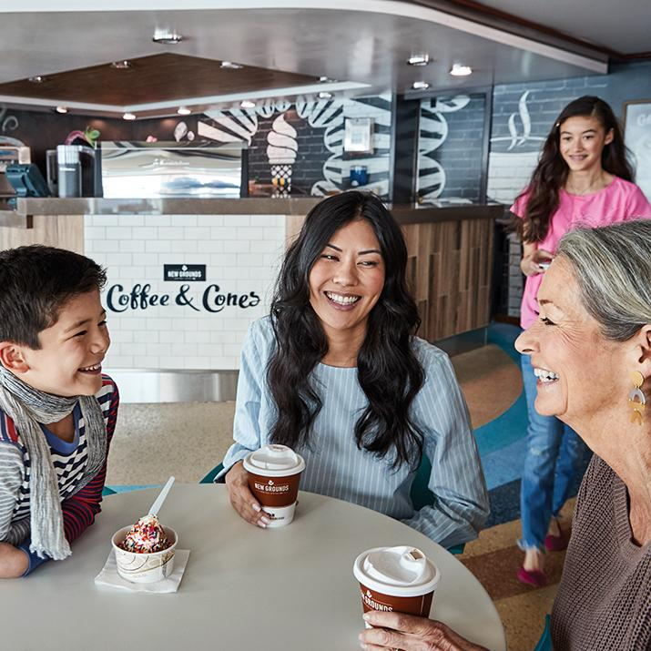 Family time is all the time, onboard a Princess Cruise