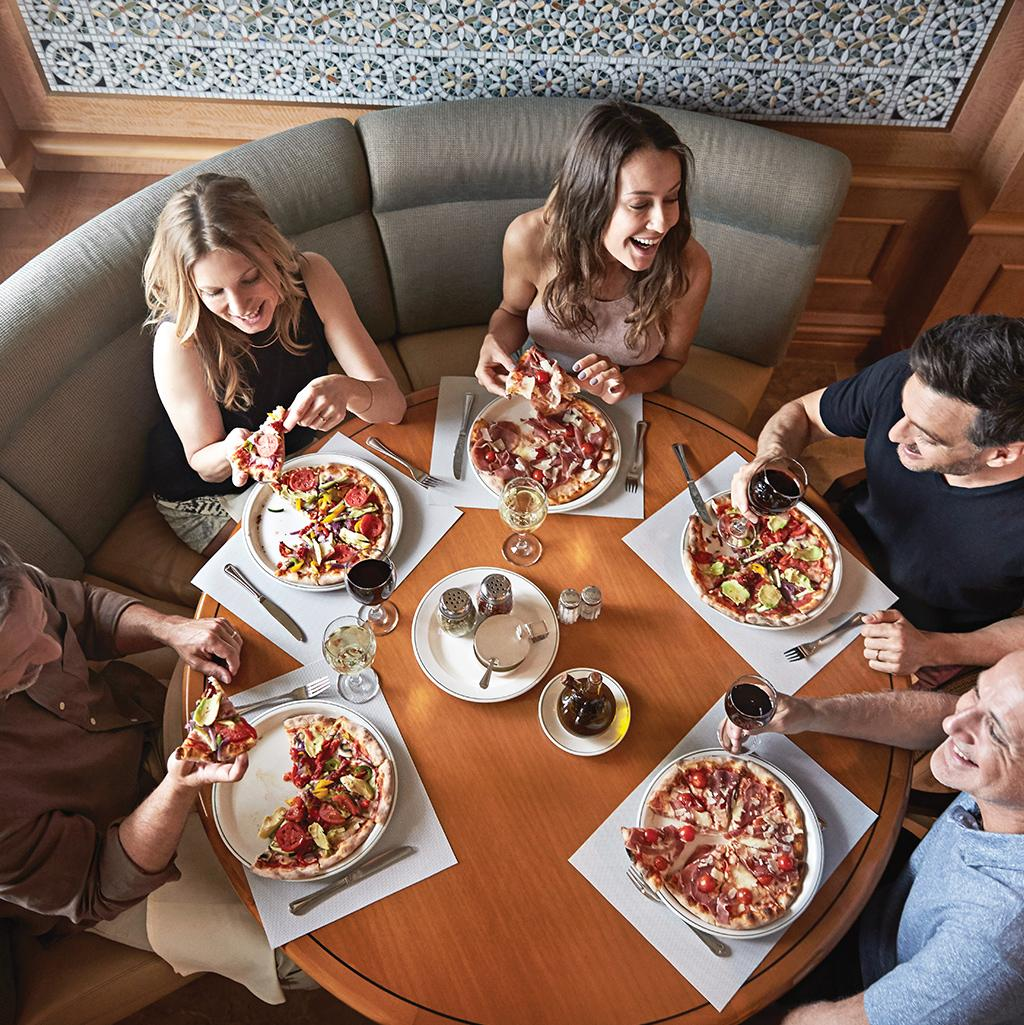 Break bread with new friends and old favorites while cruising the high seas aboard a Princess Cruise