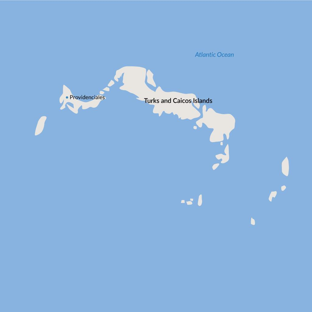 Providenciales vacations map