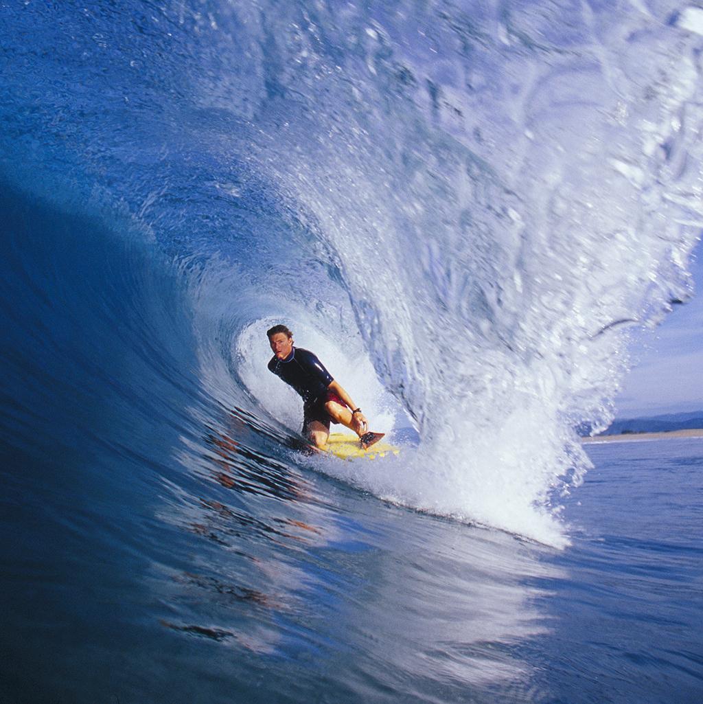Surfing in Rivira Nayarit