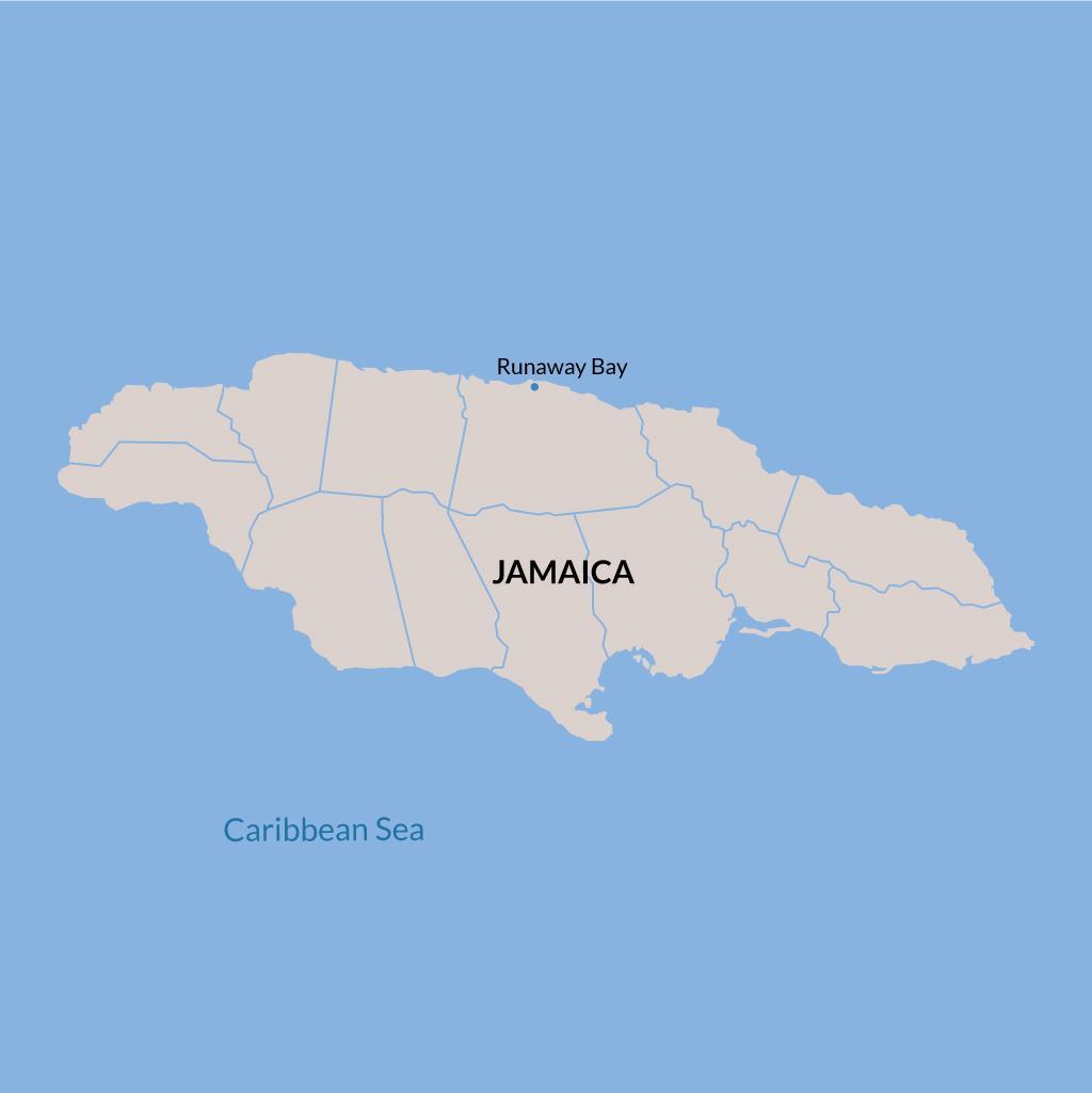 Runaway Bay vacations map